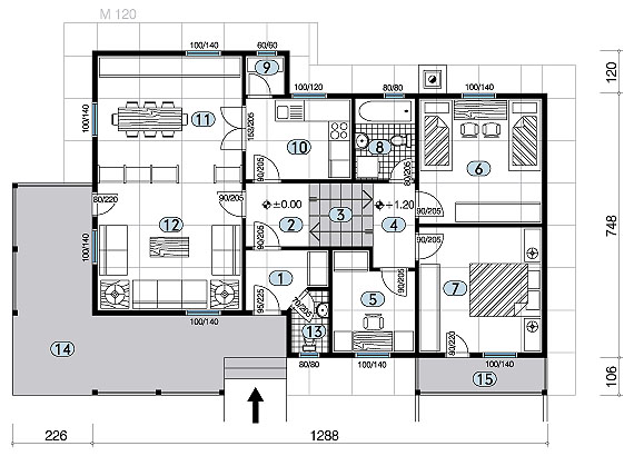 Plan za montazne kuce joy studio design gallery best for Design apartment winterfeldtplatz zietenstr 25a