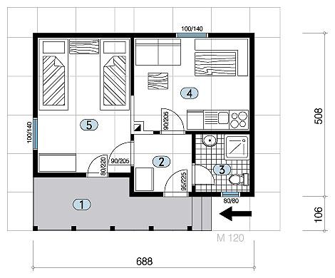 Plan Kuce I Nacrt  Joy Studio Design Gallery - Best Design